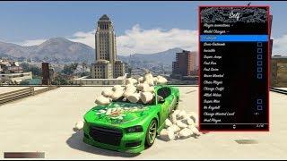 GTA ONLINE 1 42 MOD MENU - GIVE PLAYERS RP / UNLOCKS