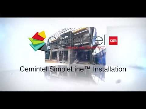 How to: Install Cemintel SimpleLine™ Cladding