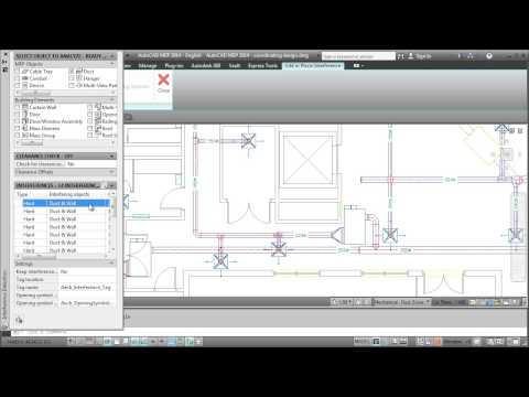AutoCAD MEP 2014: Coordinating Designs
