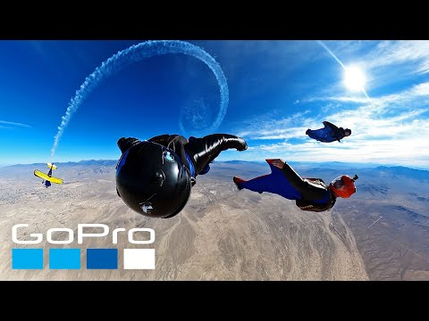 GoPro: Wingsuiting Alongside a Plane with Savage Sac