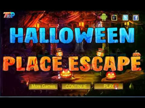 halloween place escape walkthrough