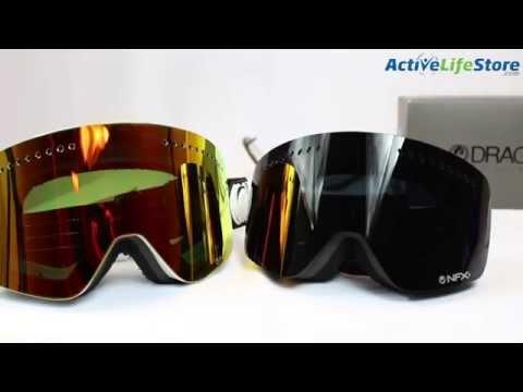 Dragon NFX Snowboard Ski Goggle Video Review
