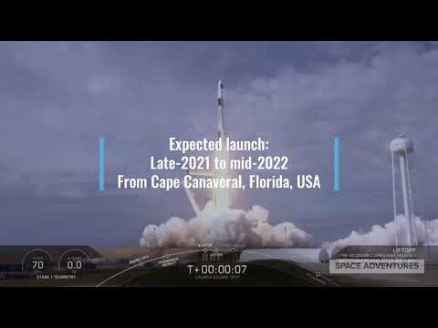 SpaceX and new partner announce space tourism launches on Dragon starting as early as 2021