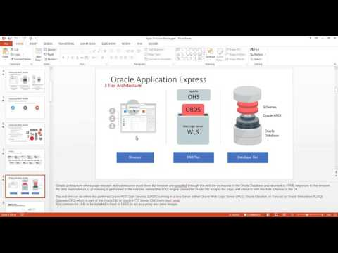 Oracle APEX Online Training Session - YouTube
