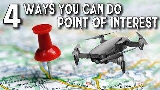 Mavic Air - 4 Easy Ways To Do Point Of Interest Shots (POI)