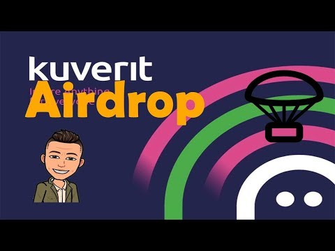 Kuverit dando R$74 reais em Airdrop !