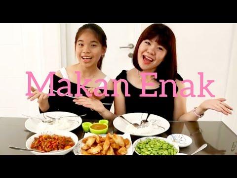 Video makan pete vs cowok rakus + sambal matah extra pedas & siomay goreng