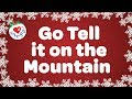 Go Tell it On the Mountain | Christmas Gospel Song & Carol | Children Love to Sing