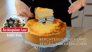 Bergbauern Käsekuchen | Berchtesgadener Land Molkerei | Almkäsekuchen