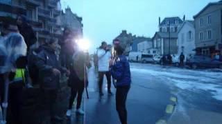 preview picture of video 'Fanny chute à Saint Malo grandes marées Vendredi 20 Février 2015'