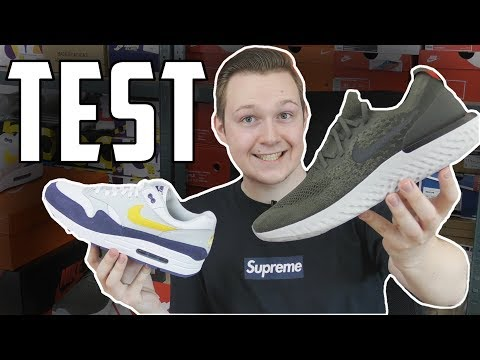 Test butów na lato! Nike Epic React i Nike Air max 1!