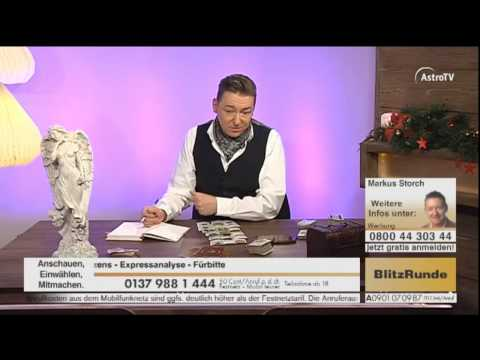 Kartenlegen Live mit Markus Storch auf AstroTV-HD