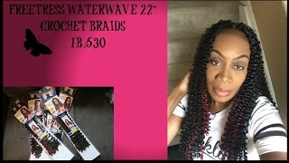 "FreeTress Waterwave 22"" Crochet Braid"