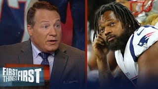 Eric Mangini isn't shocked Pats suspended Michael Bennett for conduct | NFL | FIRST THINGS FIRST