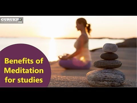 Video Benefits of Meditation for studies in hindi