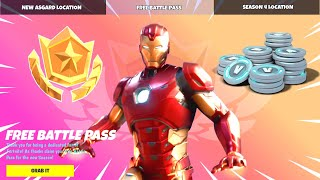Claim Your FREE Season 4 BATTLE PASS in Fortnite! (NOW)