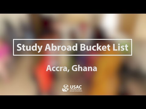Ghana Bucket List