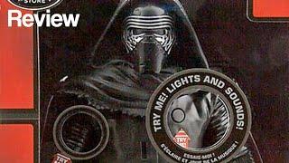 (Disney Exclusive) Star Wars Talking Kylo Ren Figure Review