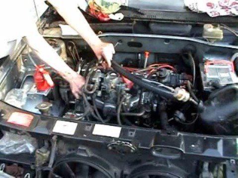 Wieviel wird das Benzin für den Start des Motors verbraucht