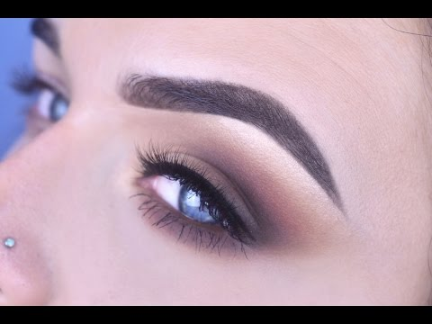 Warm Smokey Cat Eyeshadow Tutorial | ABH