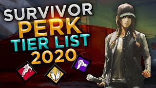 Dead by Daylight - Survivor Perk Tier List (2020)