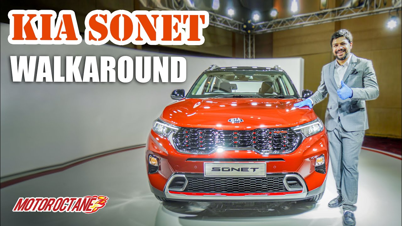 Motoroctane Youtube Video - Kia Sonet - Too many Features | Brezza, Nexon, Venue competition
