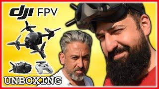 Dji FPV Drone Kutu Açılımı ve İnceleme /w Pesimist Suat