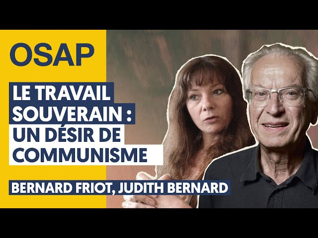 Le travail souverain : Un désir de communisme