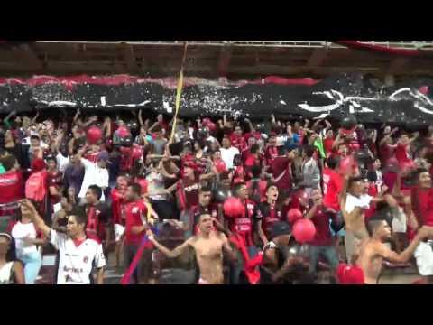"""VAMOS ROJINEGRO Audio original estadio metropolitano de Lara"" Barra: Huracan Roji-Negro • Club: Deportivo Lara"