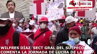 MOVILIZACIÓN NACIONAL DE LA CGTP