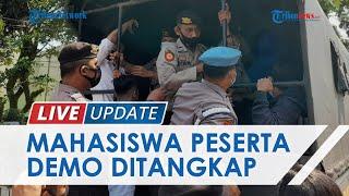 LIVE UPDATE: Unjuk Rasa Tolak Perpanjangan PPKM Level 4 di Lebak Ricuh, Peserta Aksi Ditangkap
