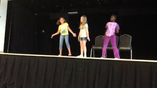 Summer Camp - Practicing For Talent Show   Too Much : Zendaya (2015)