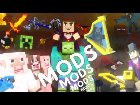 ♫ Mods Mods Mods (Minecraft Mods)A Mineworks Original Animation