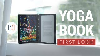 Lenovo Yoga Book C930: Laptop, tablet, and e-book reader?