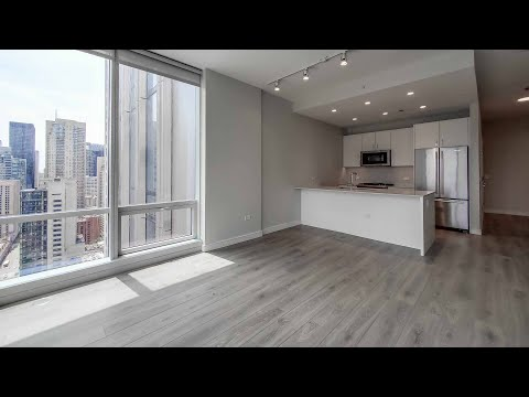 A River North 1-bedroom CA1 at the new One Chicago Apartments