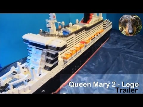 Lego Queen Mary 2 | Trailer