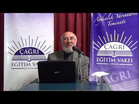 09 Aralık 2014 - Sadık Ünal ile Riyazü's-Salihin Dersleri