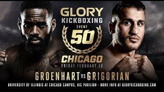 GLORY 50 Chicago: Prelims