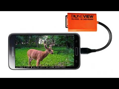 Must See Review! BuckStruck Game and Trail Camera Viewer for Android Devices, Micro Usb Connectio..