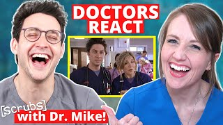 "Ob/Gyn Reacts (feat. Doctor Mike!)   Scrubs ""Gyno Girls"