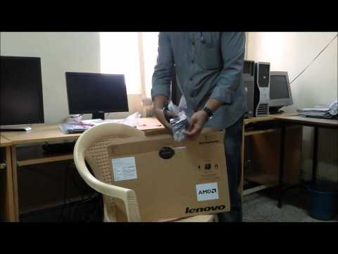 Lenovo G50‐45 Laptop  80E300GYIN AMD A8 - Snapdeal @ Rs 23823 -Unboxing