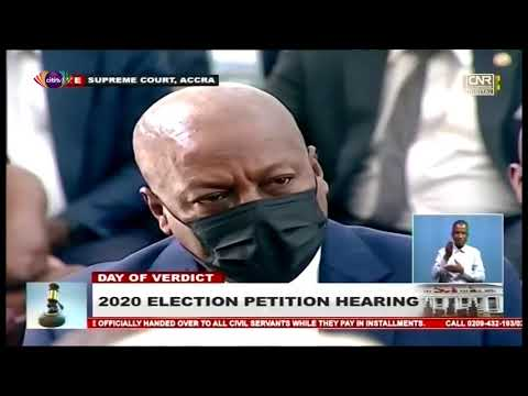 Supreme Court dismisses Mahama's Election Petition as being without merit | Citi Newsroom