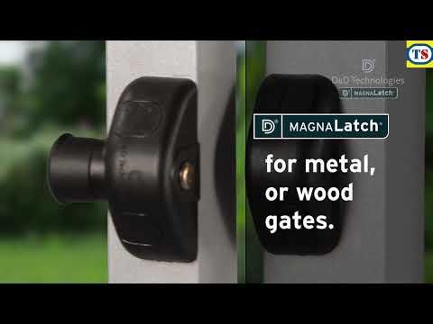 D&D MagnaLatch Side Pull Gate Latch