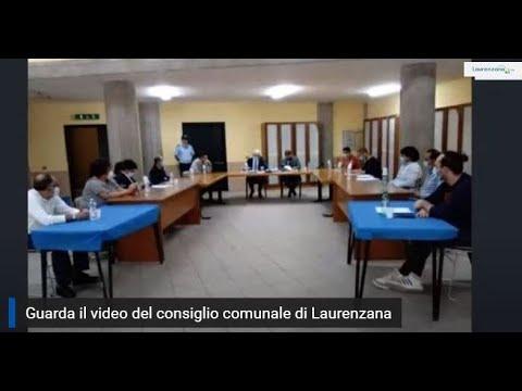 Preview video Video consiglio comunale in videoconferenza Laurenzana 14 maggio 2020