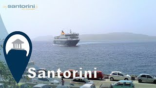 Santorini | Getting to the Island