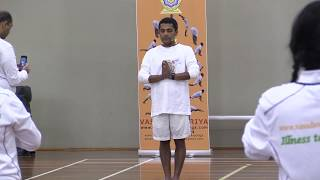 Surya Namasakara at IDY 3