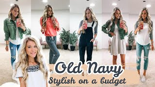 Old Navy Clothing Try On Haul | Affordable Casual Outfits | Summer/Fall 2020 Fashion