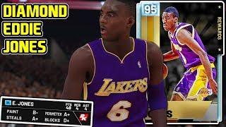 935c258e4 DIAMOND EDDIE JONES GAMEPLAY! THE BEST DIAMOND TOKEN CARD IN NBA 2k19 MyTEAM