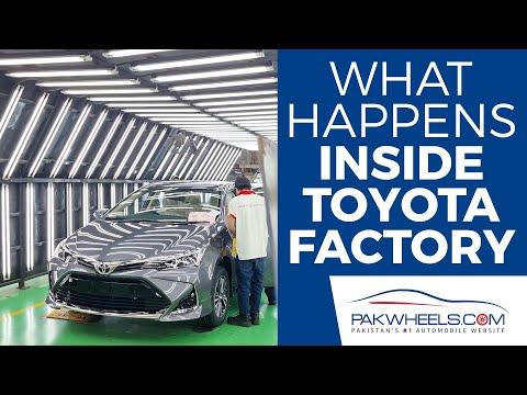 Gaari Kaisy Banti Hai? | Toyota Factory Tour | PakWheels