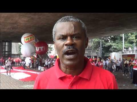 Sindsep participa da 8º Marcha das Centrais Sindicais
